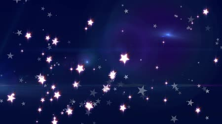 star shape : Stars and Fairy Dust Background