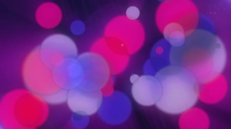 multicor : Hot Pink Blue Bokeh Abstract Motion Background  Stock Footage