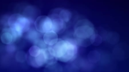 fundo azul : Blue Hexagonal Lens Flares Stock Footage
