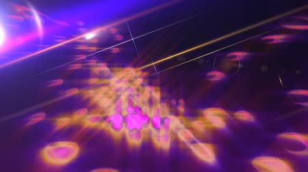 śliwka : News Style Background - Purple Abstract Motion Background with Lines and Lens Flares Wideo