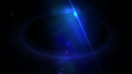质地 : Blue Lens Flare Abstract Background