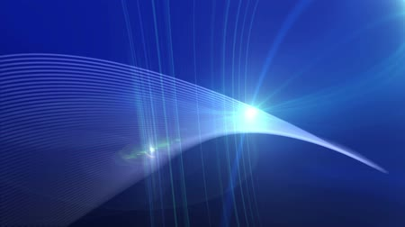 质地 : Blue Lens Flare And Vector Lines Abstract Background
