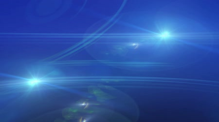 vonal : Blue Lens Flare And Vector Lines Animation Abstract Background