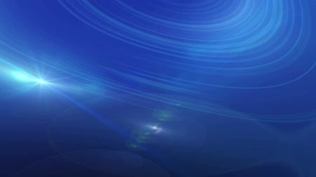 质地 : Blue Lens Flare And Vector Lines Animation Abstract Background