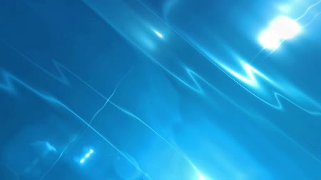 flowing lines : Abstract Motion Blue Background With Lens Flares