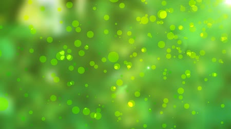 дрейф : Green natural abstract motion background with lens flares