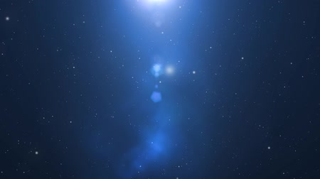 надеяться : Star Field animated motion background of star field and lens flares Стоковые видеозаписи