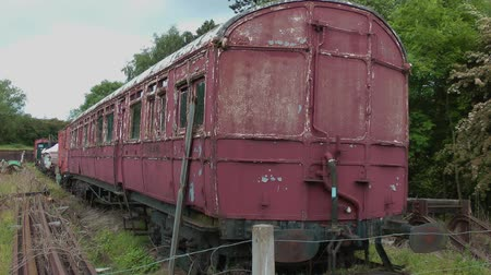 desolado : Old abandoned railway carriage