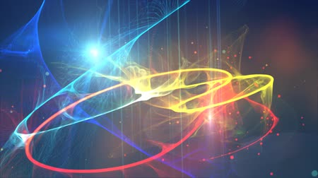 aydınlatma : Digital Graphic of  Lens Flare And Vector Lines Abstract Motion Background Stok Video