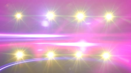 scena : Flashing Stage Lights Background for Music Videos Wideo