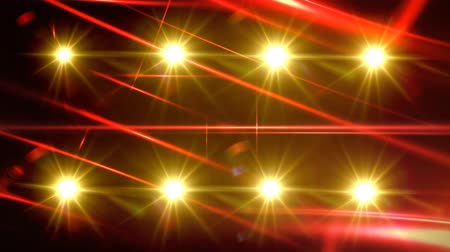 Flashing Stage Lights Background for Music Videos Стоковые видеозаписи