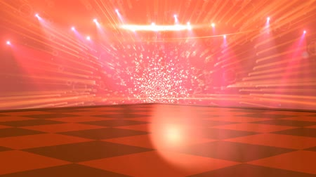 oŚwietlenie : Virtual Studio Disco Dance Floor - for use with music videos Wideo