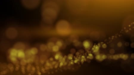 a arte digital : twinkling vibrant blurred orange abstract background Stock Footage