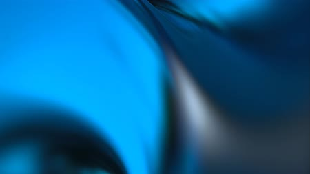 sensuous : smooth shiny blue abstract background