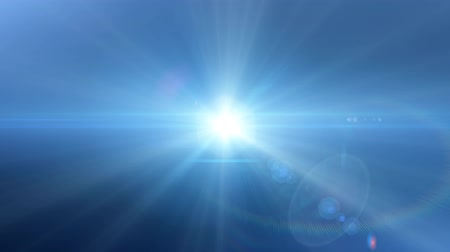 цветной : Lens flare lights abstract background Стоковые видеозаписи