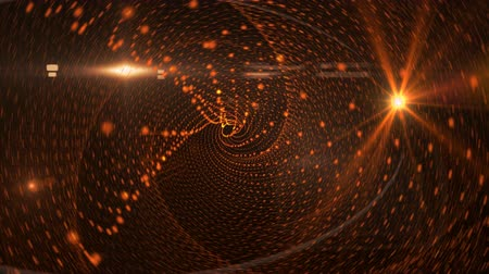helezon : space spiral animated abstract background