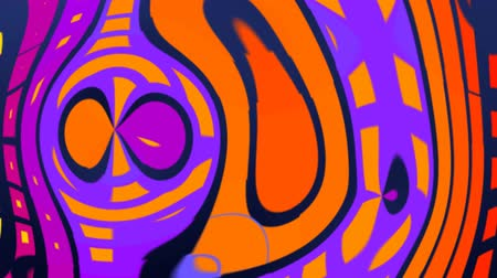 psicodélico : psychedelic hypnotic colorful shapes