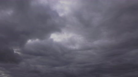 impending : storm clouds approaching Stock Footage