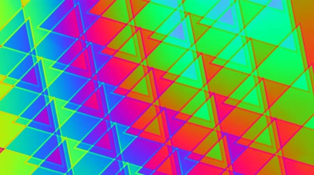 psicodélico : psychedelic retro pattern abstract motion background