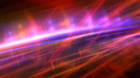 repousante : colorful pink light streaks Stock Footage