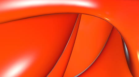sensuous : shiny organic form abstract 3d background