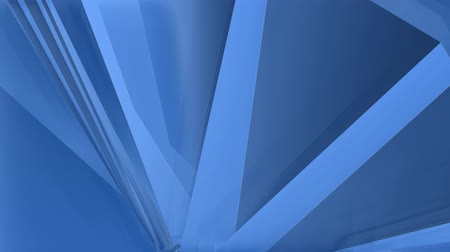 faceted : low polygon geometric abstract blue motion background