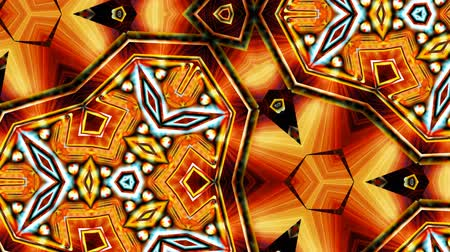 Пейсли : loopable kaleidoscopic art form abstract background