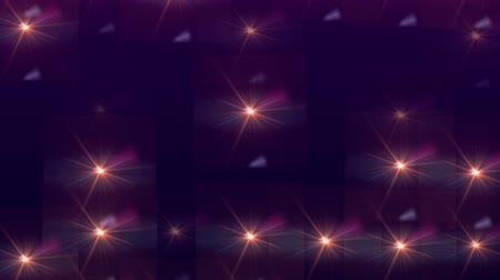 sel : bank of animated light flares abstract background