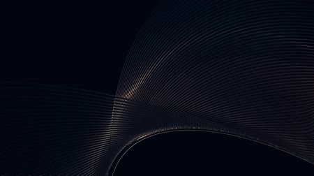 abstract vector wave background Стоковые видеозаписи