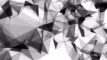 animated polygon abstract background