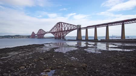 viktoriánus : Forth Railway bridge,near Edinburgh in Scotland, United Kingdom 2018