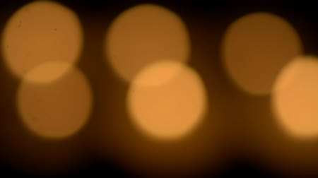 soft : burning an aromatic candle in the dark hd video footage background soft focus Stock Footage