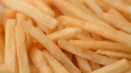 engorda : French fries close up abstract