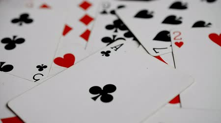 coringa : playing cards background rotated