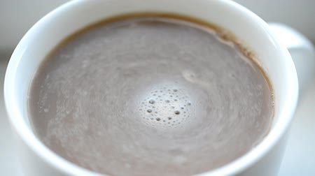 kufel : coffee mug close up Wideo