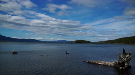 balsa : Ushuaia Landscapes and Lakes in Argentina durin my visit