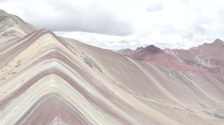 vándorlás : Rainbow Mountain in the Mountains of Peru