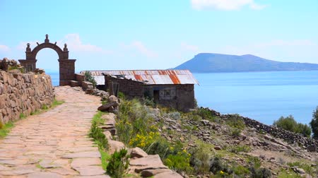 перуанский : Puno Trip on Lake Titicaca