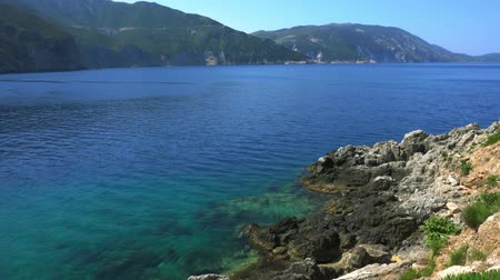 Kefalonia Island Beaches and Landscapes of Greece Wideo
