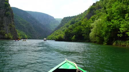 Macedonia Canyon Matka Boat Ride in the valley