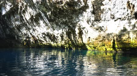 Melissani Caves in Kefalonia Island Greece