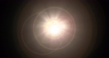 greater : Sun with lens flare