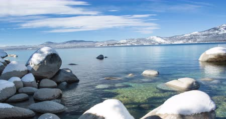 táj : Lake Tahoe Winter Landscape