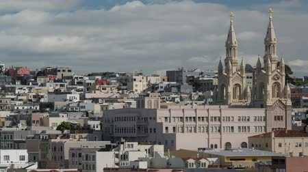 San Francisco Architecture. Footage from North Beach.