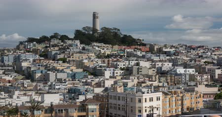 telegrafo : San Francisco Architettura. Filmato da North Beach