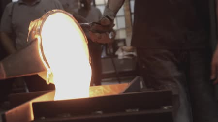 Glassworks glass manufacturing process