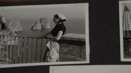 koncepció : A slow overview of vintage family photos at Capri FDV