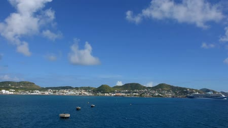 St. Kitts Bay Timelapse, panning left to right.