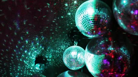 disko : Disco mirror ball Stok Video