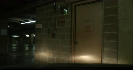 garagedeur : 4k Ominous Parking Garage Door Dolley Move